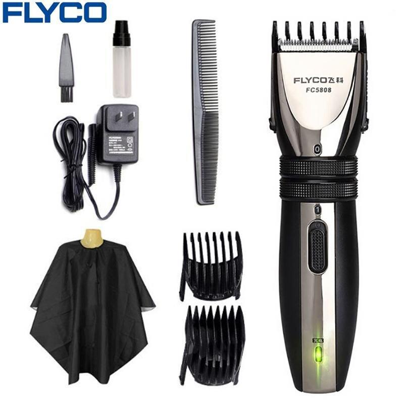 Flyco Rambut Listrik Profesional Clipper untuk Dewasa Bayi Isi Ulang Pemangkas Rambut Rambut Cutting Mesin Pencukur