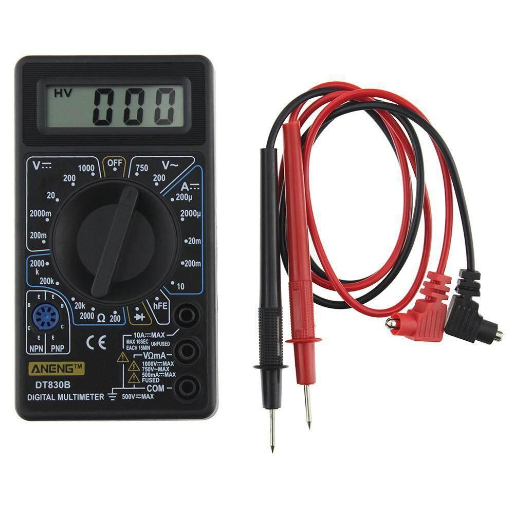 Buy Sell Cheapest Ammeter Digital Pengukur Best Quality Product Combo Amperemeter Voltmeter Frame 0 100v 10a Foorvof Mjack Dt 830b Dt830b Lcd Ac Dc Tester Tegangan Volt