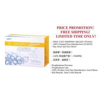 100% Original Elken EL Marino Blanc 30 Sachets (Ready Stock & Free Shipping)