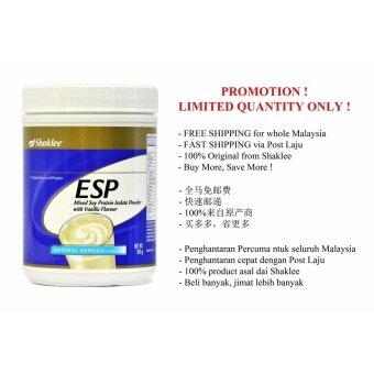Original Shaklee ESP Esp Mixed Soy Protein Isolate Powder (Ready Stock & Free Shipping)