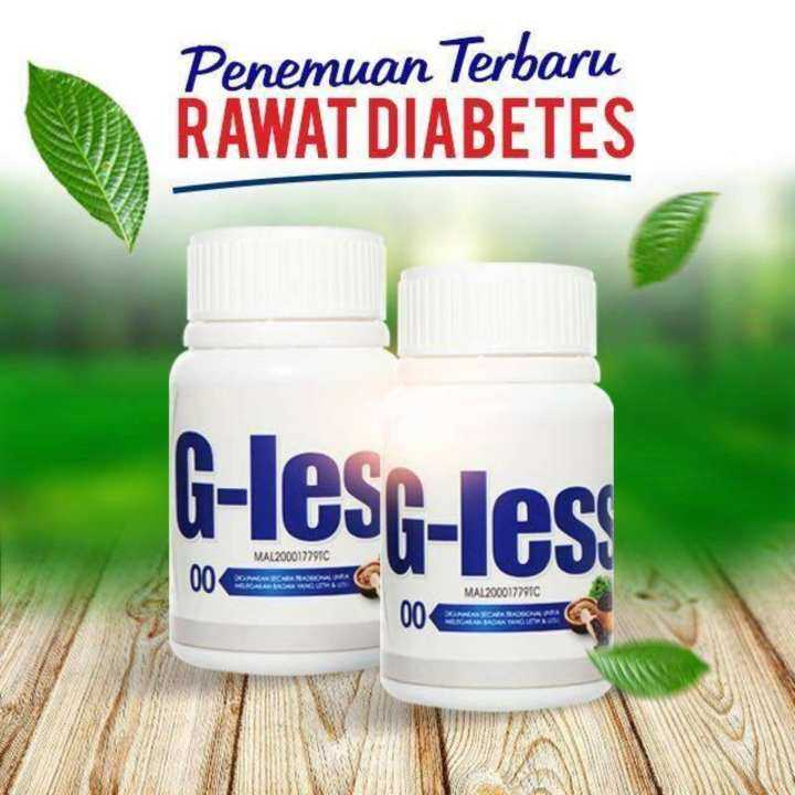 G-Less 1 Bottle 50 Tablets DIABETIC SUPPLEMENT KKM APPROVED HALAL