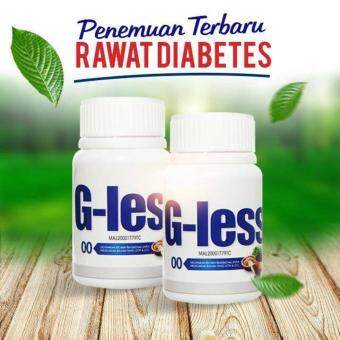 G-Less 3 Bottles 150 Tablets DIABETIC SUPPLEMENT KKM APPROVED HALAL