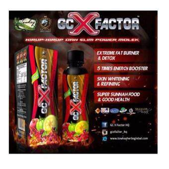 GC X FACTOR Fat Burner Detox Whitening and Weight Loss with Extra Gift