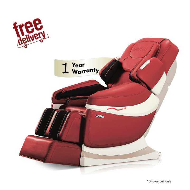 *Raya SALE* GINTELL DéAero Touch Massage Chair (Red) - Showroom Unit