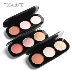 MYR 25. Glow Makeup Glitter Palette Face Brightener Shimmer Contour Bronzer Powder maquiagem Brand Focallure Mineral Highlighter ...
