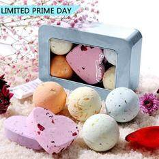 Bath Bombs Gift Set All Natural Essential Oil Lush Spa Fizzies For Dry Skin Best Birthday