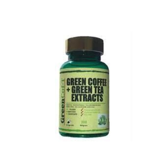 GreenCof-T Green Coffee + Green tea Extracts