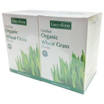 Greenfood Organic Wheat Grass Powder 100Gm X2