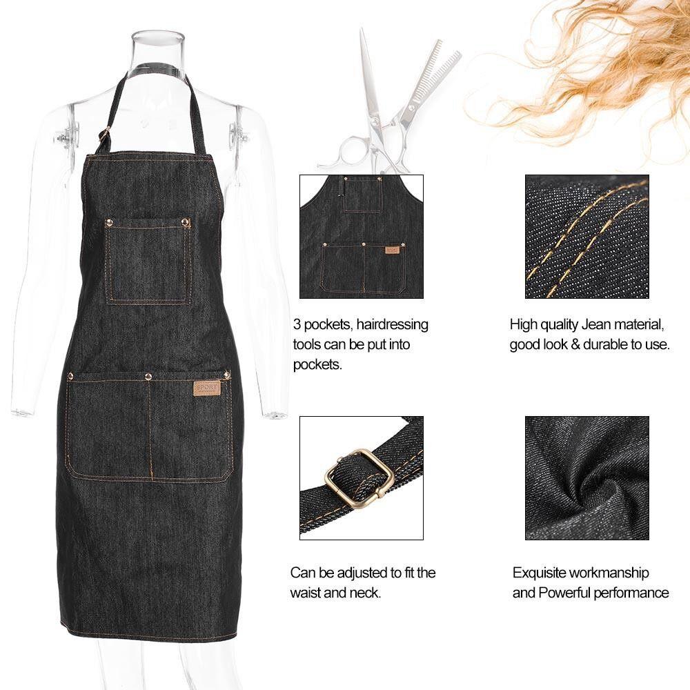 Detail Gambar Penata Rambut Apron Salon Tata Rambut Cape Rambut Pemotongan  Kain Duk Bolong untuk Mewarnai 321781686d