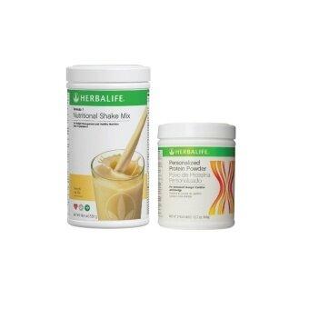Herbalife Formula 1 (F1) Vanilla + Formula 3 (F3) Protein