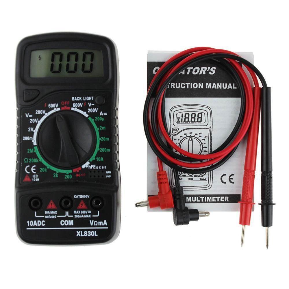 isoopmn Universal Digital LCD Multimeter XL-830L Voltmeter Ammeter Volt Current Tester