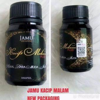 JAMU KACIP MALAM PLUS (NEW PACKAGING) 30 CAPSULE