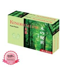 Kinohimitsu Foot Patch 10s + 10s By Beauty & Wellness.