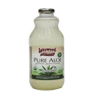 Lakewood Organic Aloe Vera Juice 32oz (946ml)