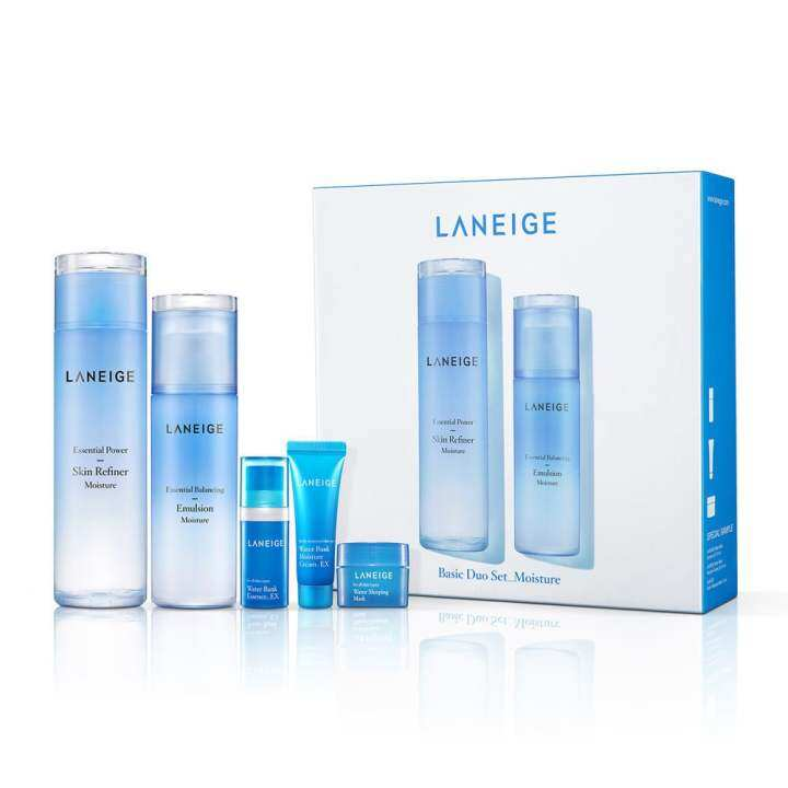 Laneige Basic Skincare 5pcs Set (Moisture)   Lazada
