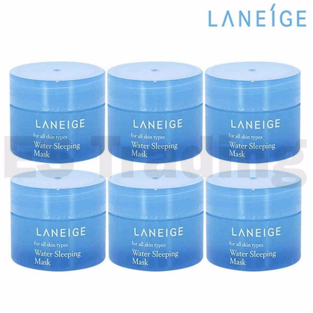 Buy Laneige Water Sleeping Mask Pack Lazada Wateclay 90ml 15ml X 6pcs Intl