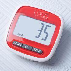 Hình ảnh LCD Digital Clip Pedometer Step Walking Distance Calorie Counter Run Calculation Red