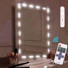 Mirrors for the best price in malaysia leegoal makeup mirror light strip cosmetic vanity mirror 60 leds light with remote control aloadofball Image collections