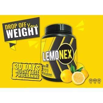 LEMONEX FAT BURNER 30 Sachet - Full Pack 1 Month Supply - Pembakar Lemak Ubat Kurus Slimming Weight Loss Drink (Halal)