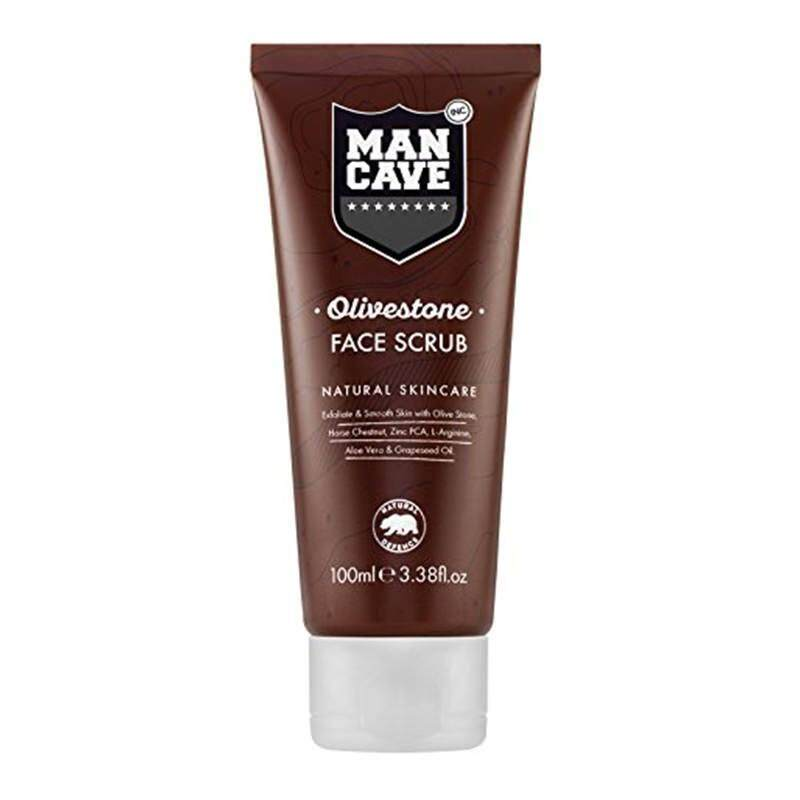 Mancave Mancave Natural Olivestone Face Scrub 100Ml From Usa Intl Review