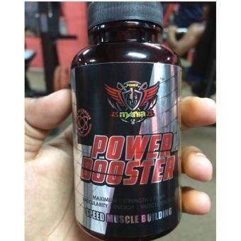 MANIA POWER BOOSTER MUSCLE BUILDING 70 Tablets [ ORIGINAL] FREE TSHIRT