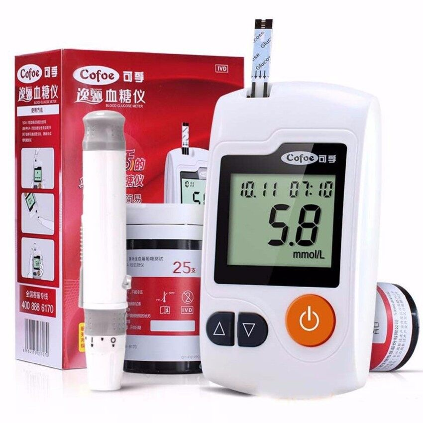 Cheapest Medical Diabetic Household Monitors 50Pcs Strips And 50Pcs Needleslancets Blood Sugar Glucose Meter Glucometer Intl Online