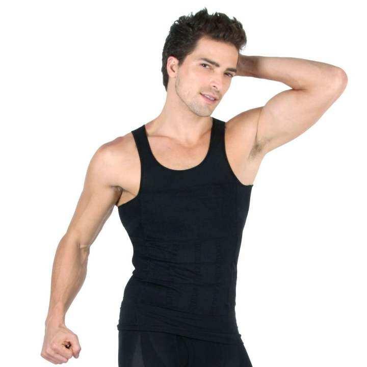 169aa02492 Men Slim N Lift Slimming Body Shaper Sports Gym Wear - Black