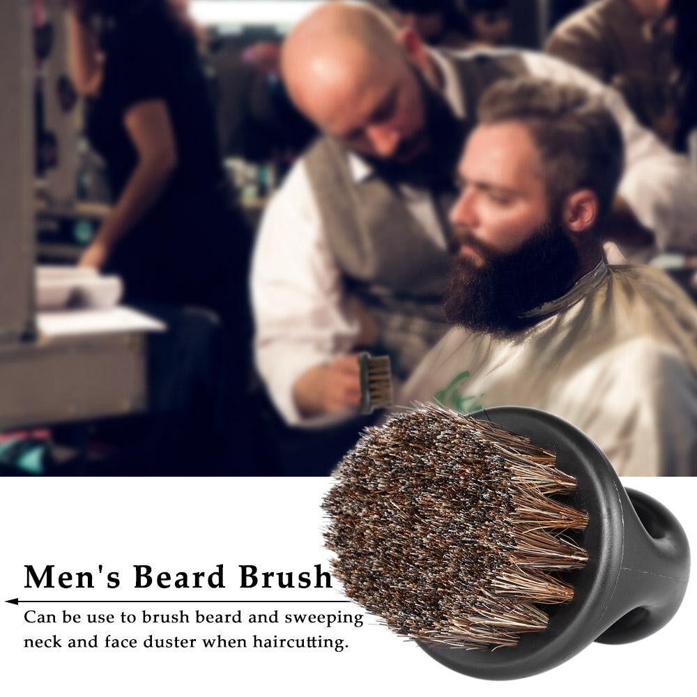 Mens Beard Brush Barber Hair Sweep Brush Mustache Shaving Brush Neck Face Duster Brush For Hairdressing Salon Household - Intl By Outdoorfree.