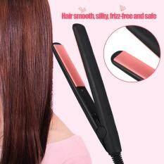 Mini Portable Electronic Hair Straightener Flat Irons (US Plug)
