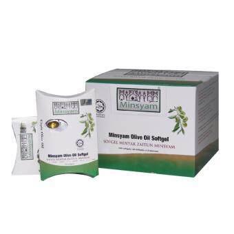 Minsyam Virgin Olive Oil 240 Softgel Capsules