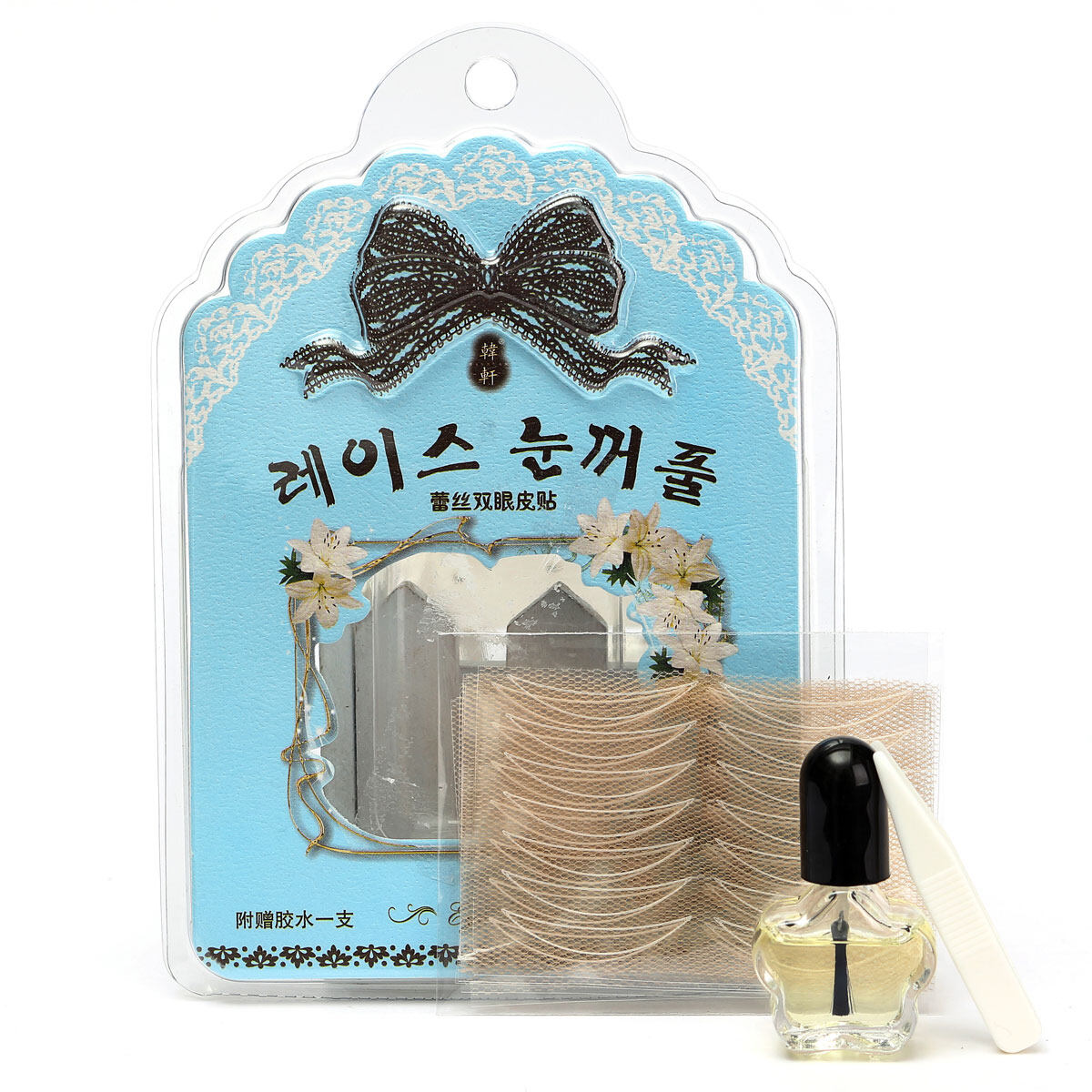 Miss Bowbow Mesh Type Double Eyelid Tape With Quick Dry Glue 60sets Professional XL - intl Philippines