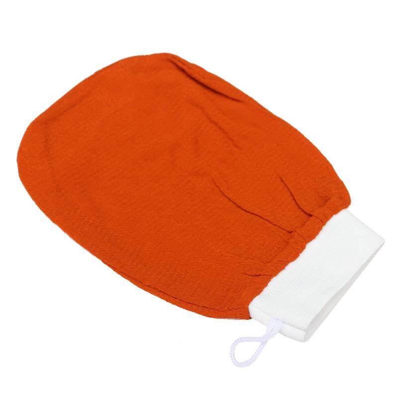 Monolayer Rayon Scrub Mandi Sarung Tangan untuk Mandi Sauna Alat Pengelupas- Intl