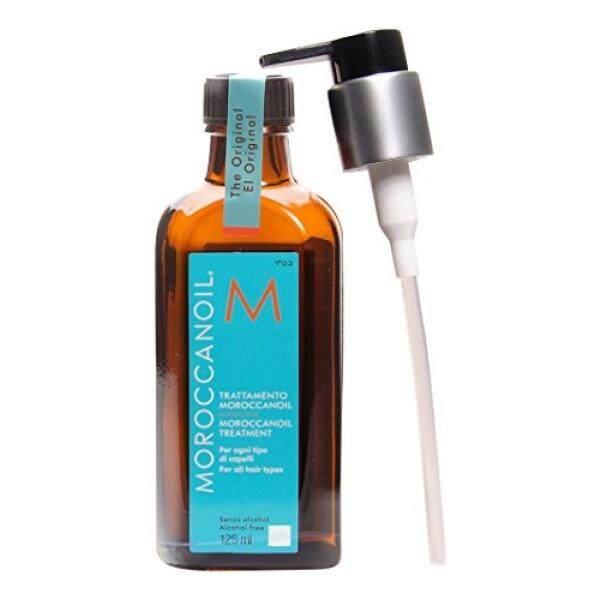 Botol Perawatan Rambut Moroccanoil dengan Bonus Pompa, 4.23 Oz./125 Ml-Internasional