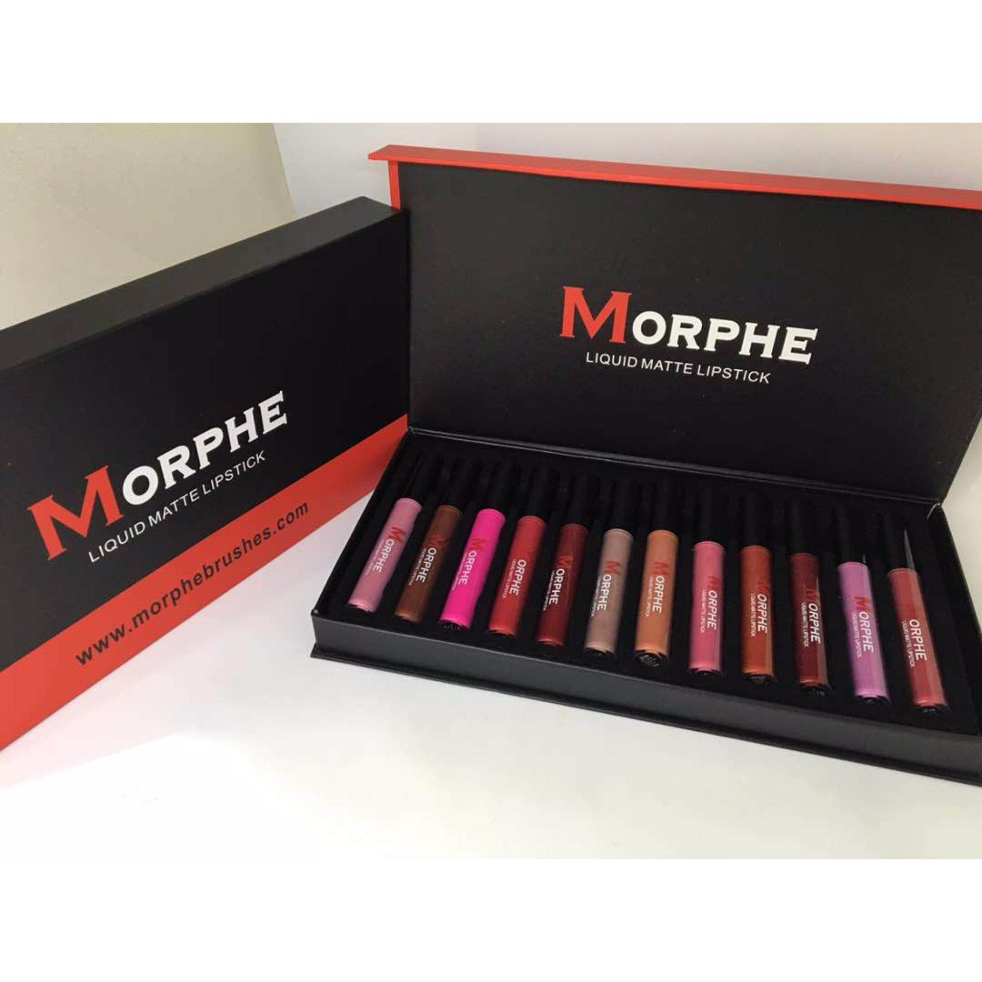 Morphe Liquid Matte Lipstick 12pcs in 1 set