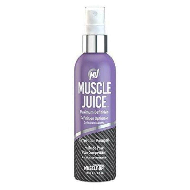 Buy Muscle Juice Competition Posing Oil, Maximum Definition, 4 fl oz (118.5 ml) - intl Singapore