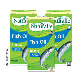 NATURALLE Fish Oil 1000mg 3 x 100's