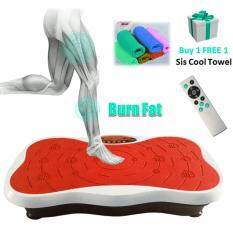 New 999 Adjustable Speed Whole Body Vibration Ez Shaker Shaper Slimming Fitness Exercise (red) By Cs Mall.