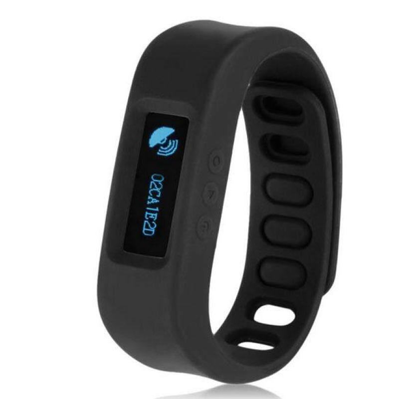 NEW Wireless Health Bracelet Wristband Health Monitor Sleep Tracker Black bán chạy