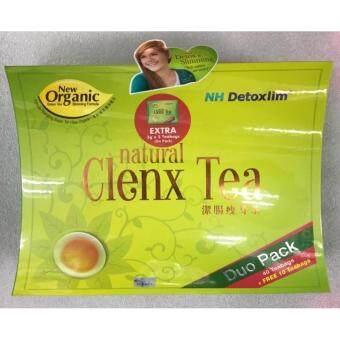NH DETOXLIM CLENX TEA 40's+10's FREE 5's