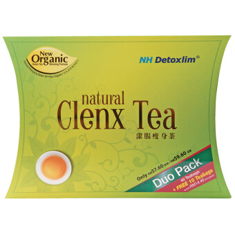 NH DETOXLIM NATURAL CLENX TEA DUO PACK (40 teabags free 10 teabags)