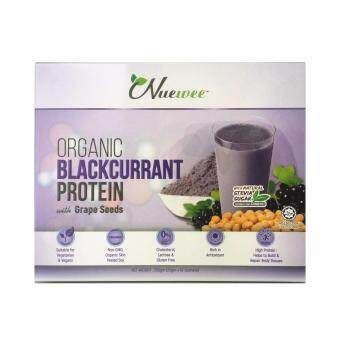 Nuewee Organic Blackcurrant Protein (10 SACHETS) Twin Pack