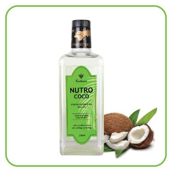 nutrococo virgin coconut oil 500ml lazada. Black Bedroom Furniture Sets. Home Design Ideas