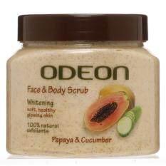 Odeon Papaya And Cucumber Scrub 300ml By Bigm Stores.