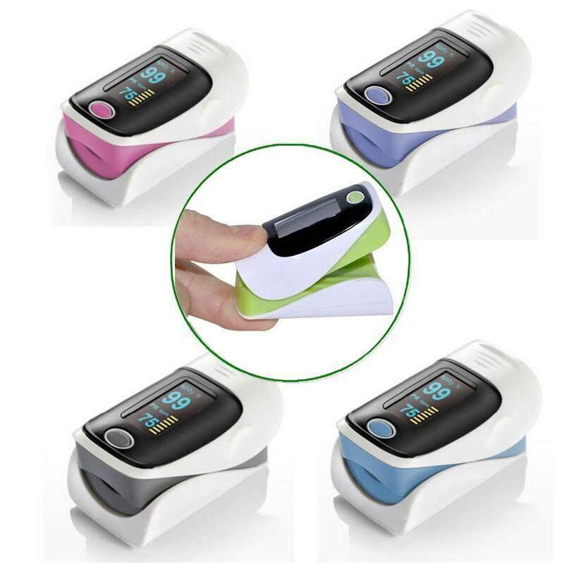 OLED Finger Pulse Oximeter Blood Oxygen SpO2 Saturation Oximeter Monitor Random Color bán chạy