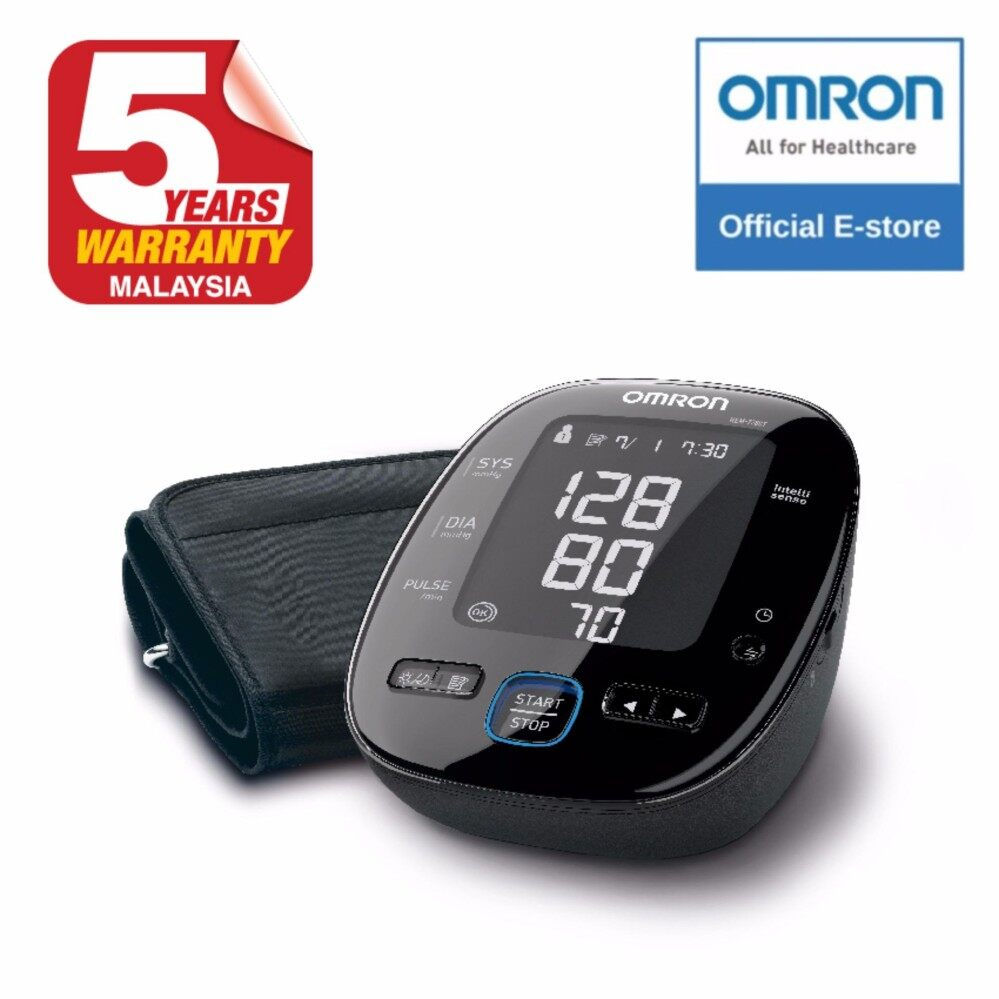 Beli Omron Hem 7320 Tensimeter Digital Gratis Mc 245 Thermometer Connected Upper Arm Blood Pressure Monitor 7280t