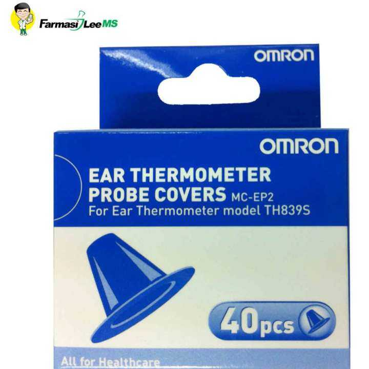 Omron Ear Thermometer Probe Covers for Model TH839S 40s