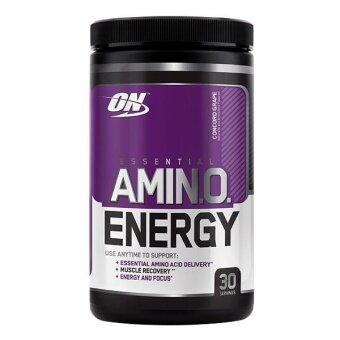 Optimum Nutrition Essential Amino Energy, Concord Grape, 30 Servings