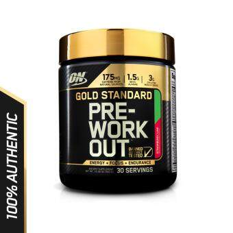 Optimum Nutrition Gold Standard Pre-Workout 300g - Strawberry Lime