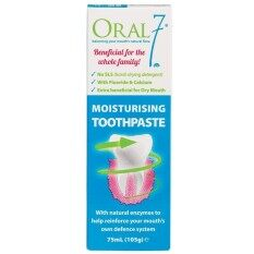 Oral 7 Moisturizing Toothpaste 105g By Alive Pharmacy.