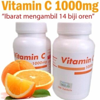 Pahang Pharma Vitamin C 1000mg 100 tablets